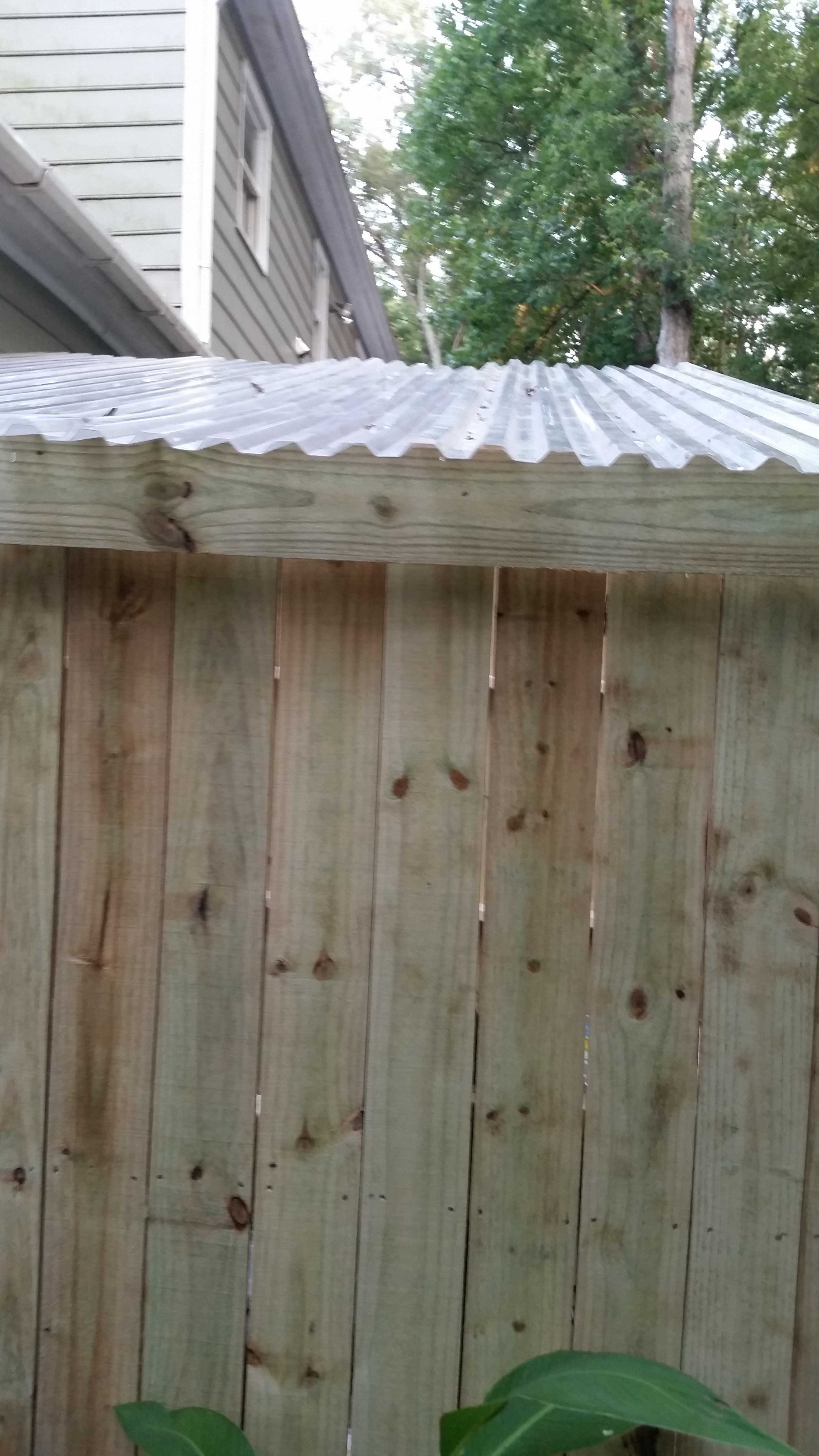 My $300 rustic picket garden shed