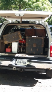 Truckload of garage sale finds that I get to work with!