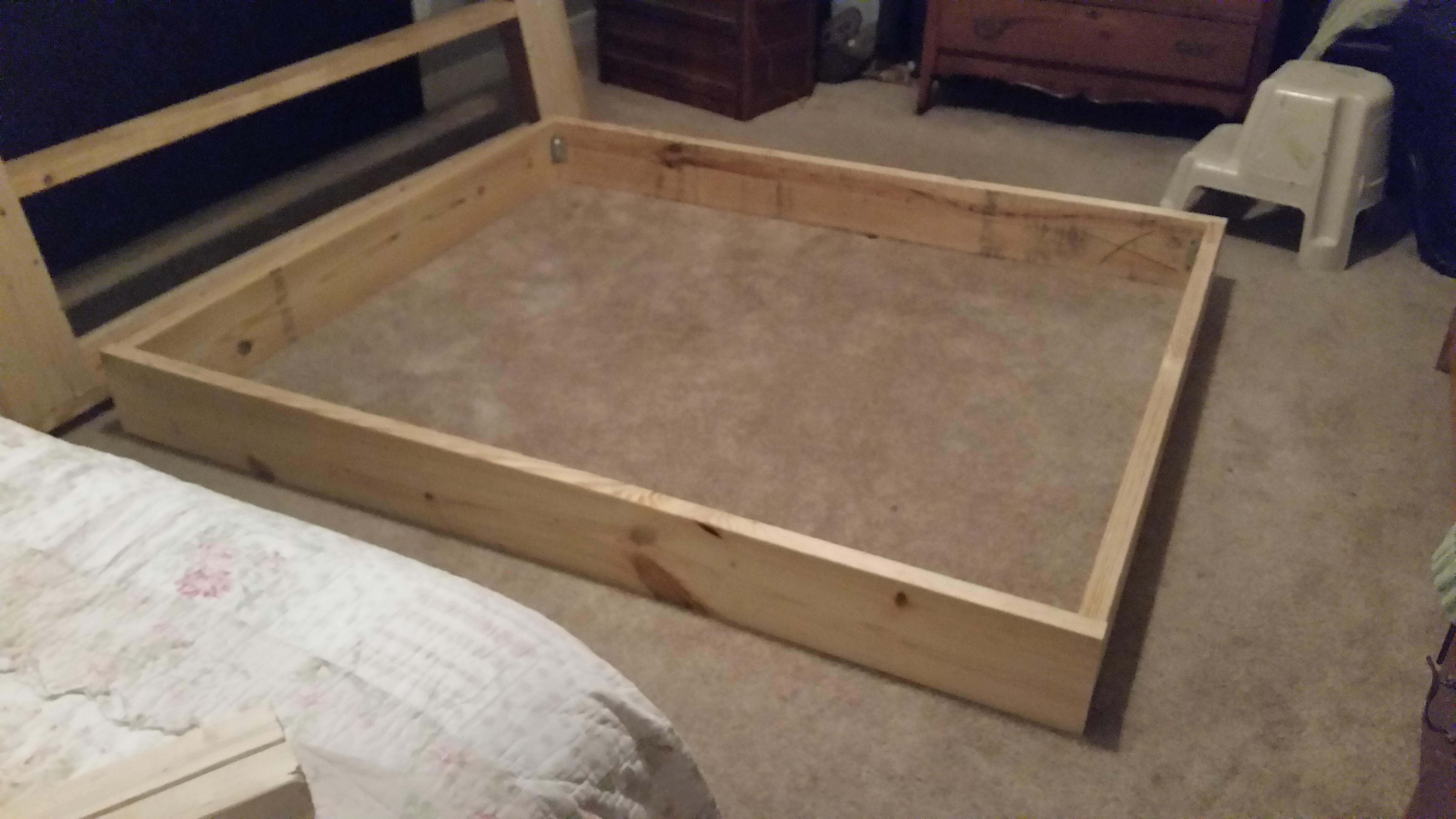 Diy King Size Platform Bed