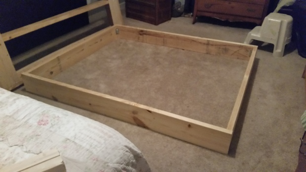 Permalink to free plans for a platform bed with storage