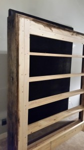"""Overall cut boards for outside 2- 2x12x 84"""" and 2-2x12x 77"""""""