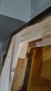 We used the Kreg jig to attach the 1x4s which keeps the cats out from under the bed
