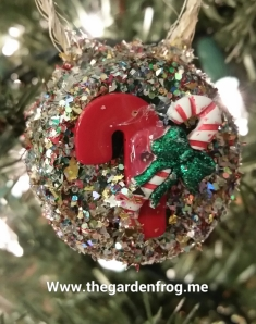 christmas ornament, Christmas craft ornament,