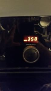 Oven @ 350 degrees