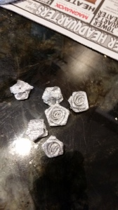 I was happy to find silver roses
