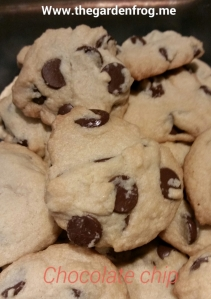 chocolate chip cookies, one bowl chocolate chip cookies, baking cookies, cookies