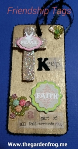 friendship tag, wooden frienship tag, craft tag