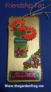 friendship tag, wooden gift tag, craft friendship tag