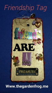friendship tag, wooden gift tag, wooden craft tag, wooden friendship tag