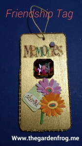 wooden friendship tag, friendship tag, craft wooden gift tag