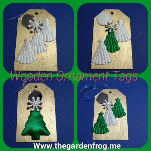 teacher gift, wooden gift tag ornament, craft tag ornament, gift tag