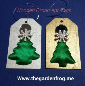wooden ornament gift tag, teacher gift, small gift idea,