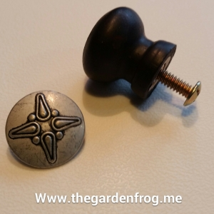 knob makeover, button knob