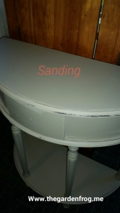 Prairie colors chalk paint, sanding and distressing furniture