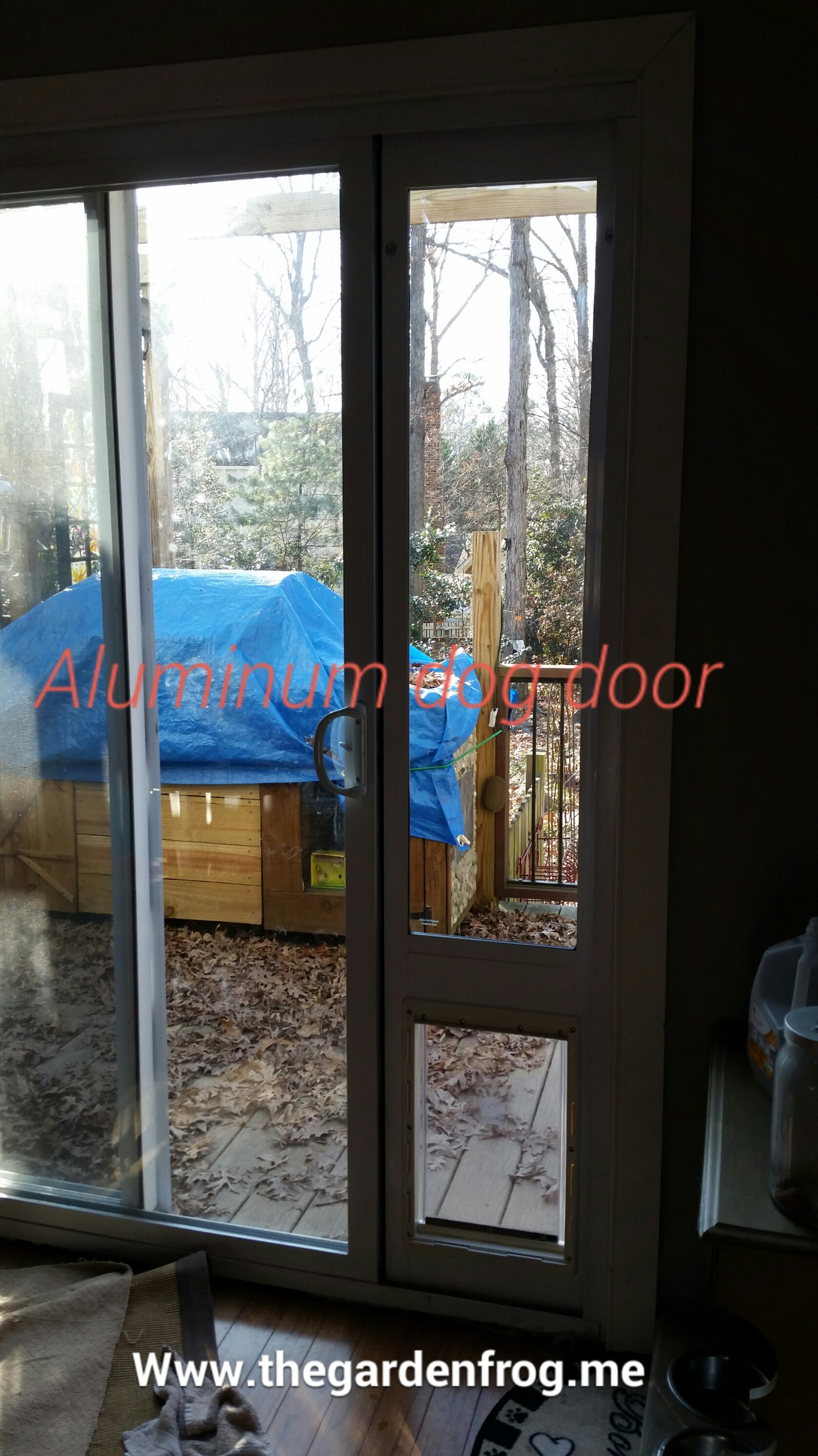 How to install and modify an aluminum ideal pet patio door for home depot doggy patio doggy door aluminum patio dog door planetlyrics Gallery