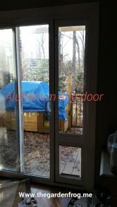 Home Depot doggy patio doggy door, aluminum patio dog door