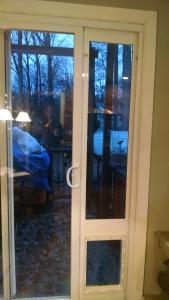 Home Depot aluminum dog door