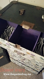 wardrobe trunk makeover transformation