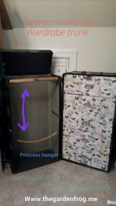 wardrobe trunk makeover