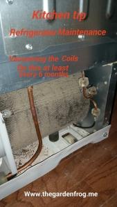 refrigerator coil maintenance,