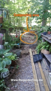 composting, compost without a bin