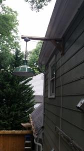 antique outdoor light