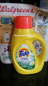 use coupons for Tide at Walgreens