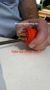 replacing plug end