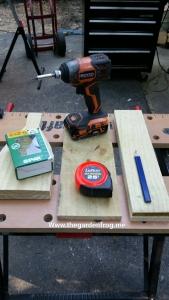 garden bench supplies