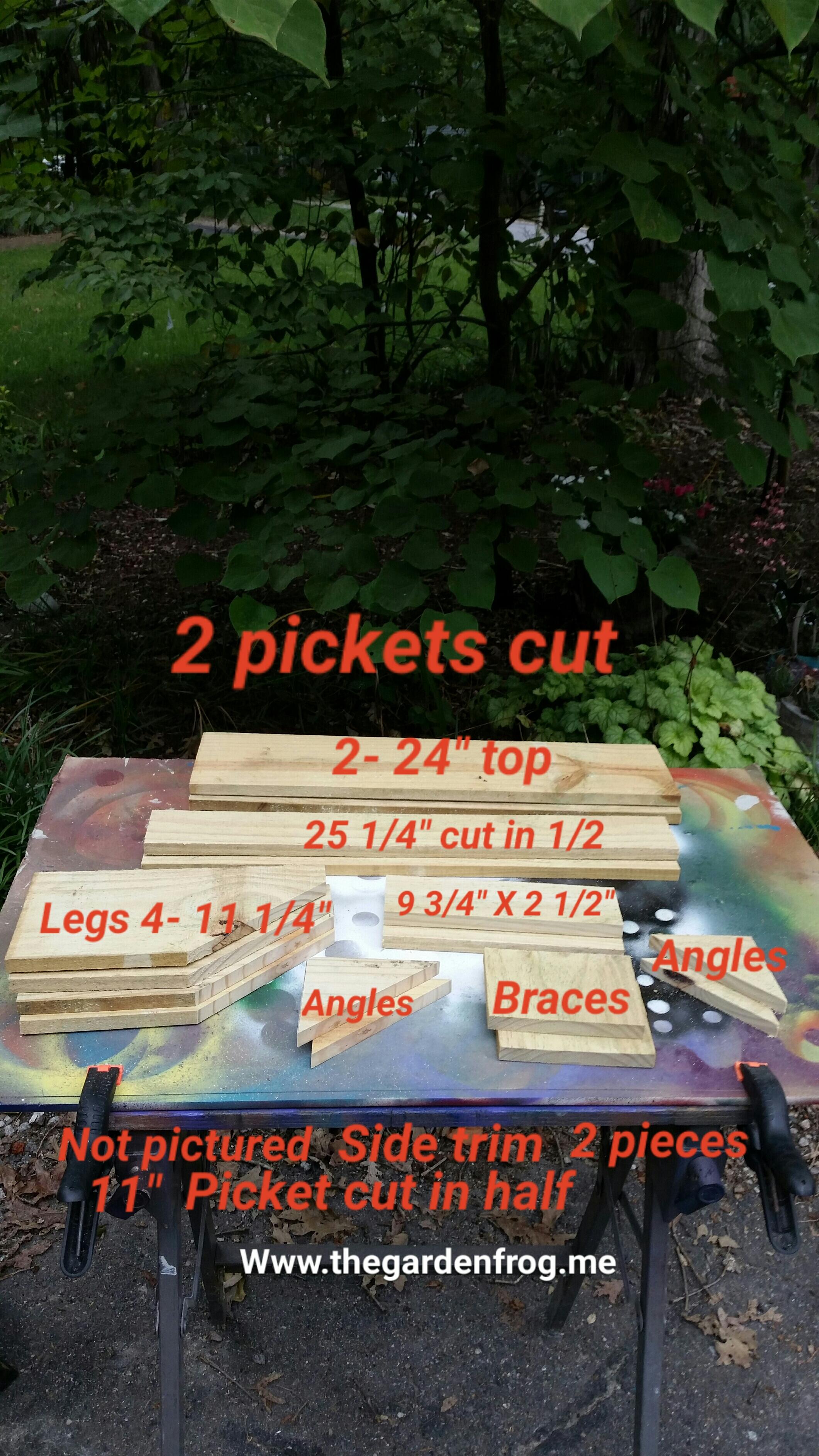 build your rustic garden bench for 4 - Rustic Garden 2015