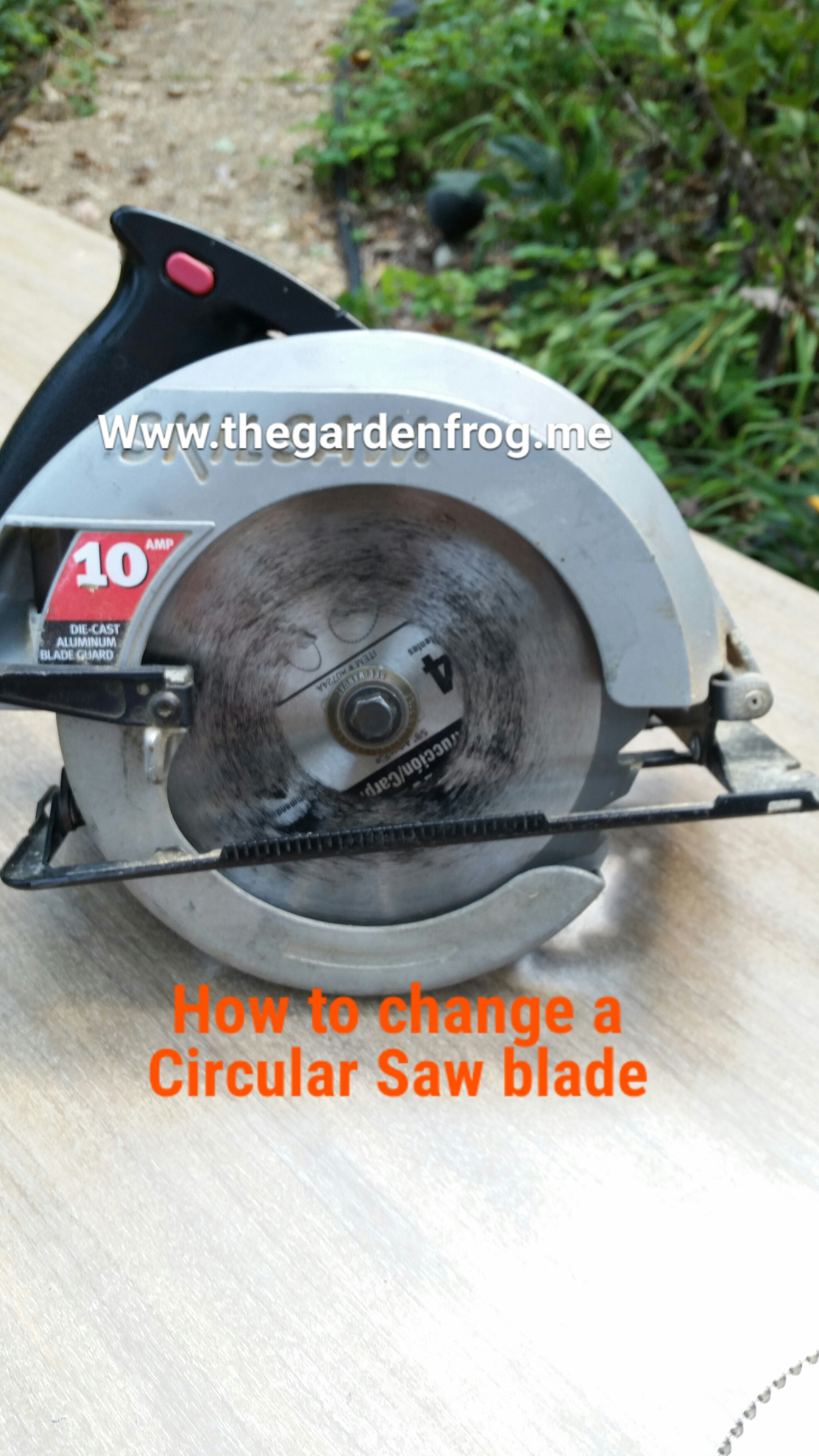 How to change a circular saw blade how to change a circular saw blade greentooth