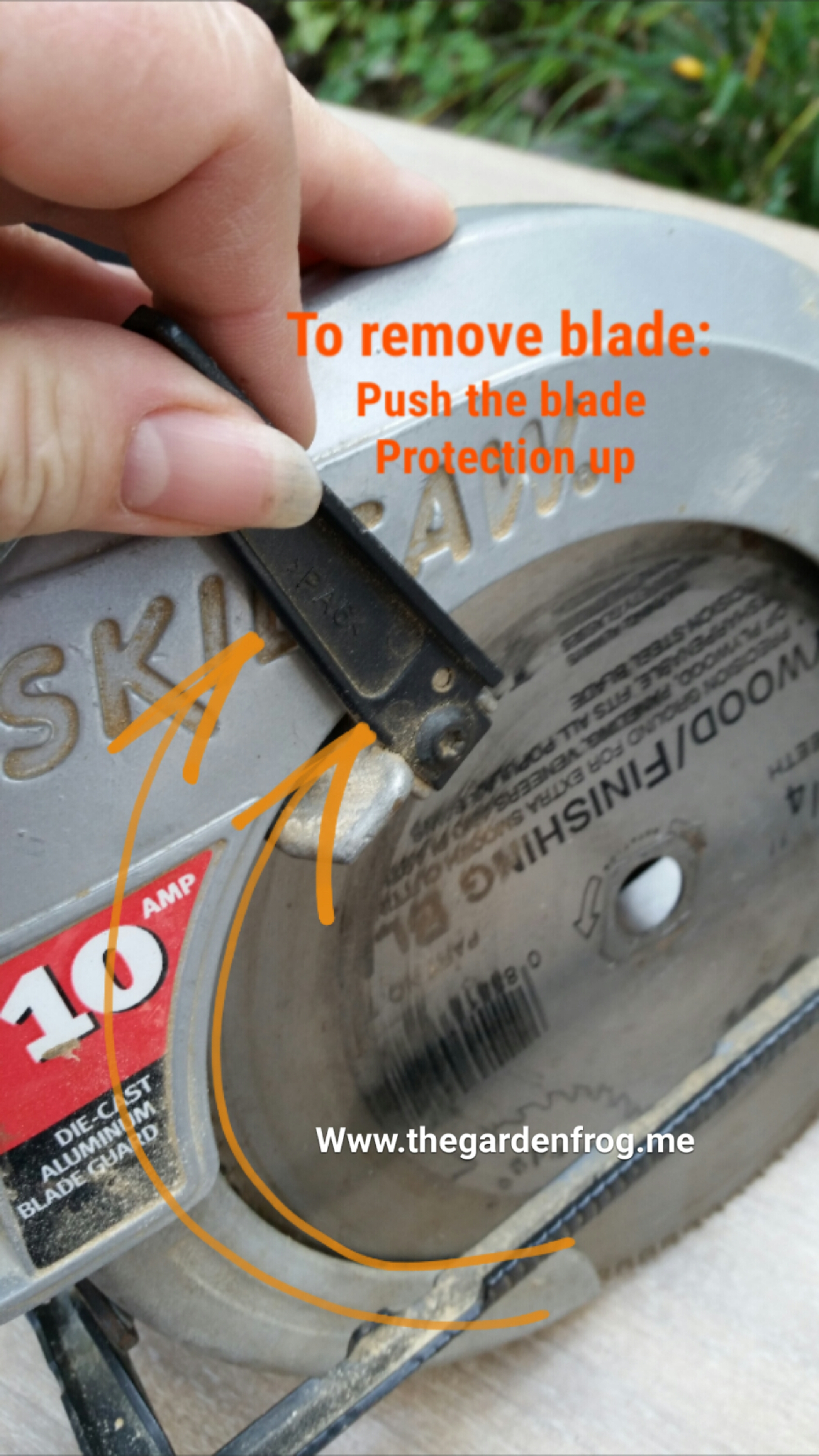 How to change a circular saw blade how to change a circular saw blade greentooth Image collections