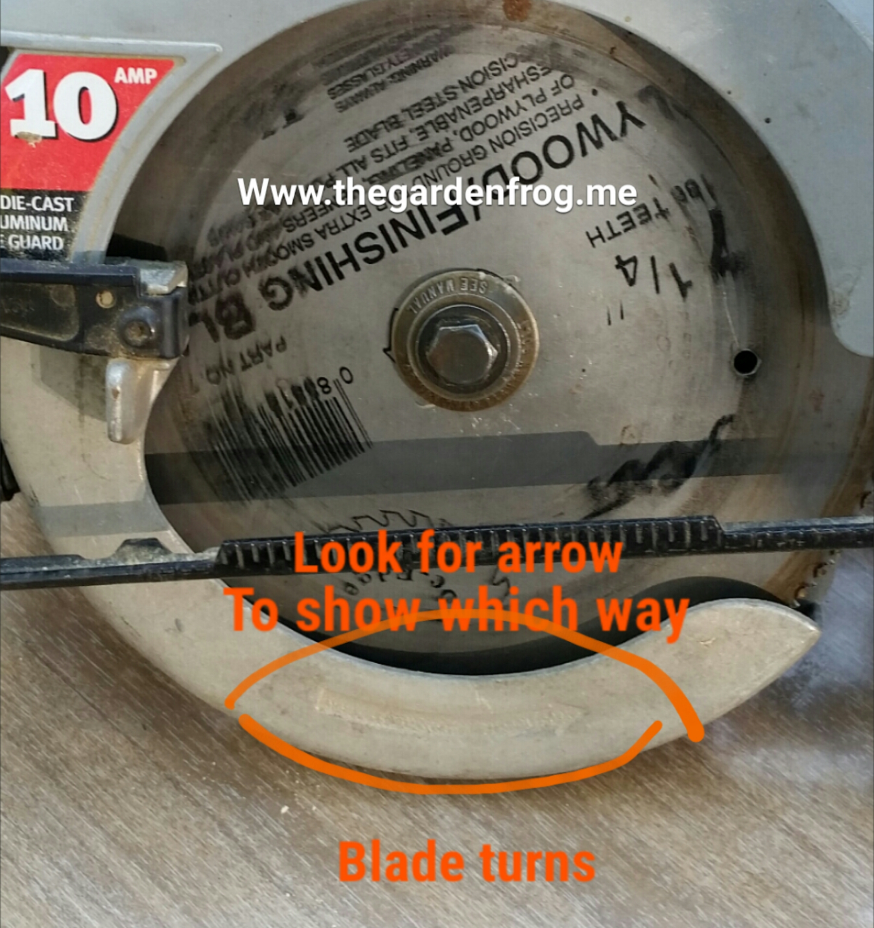 How to change a circular saw blade how to change a circular saw blade greentooth Gallery