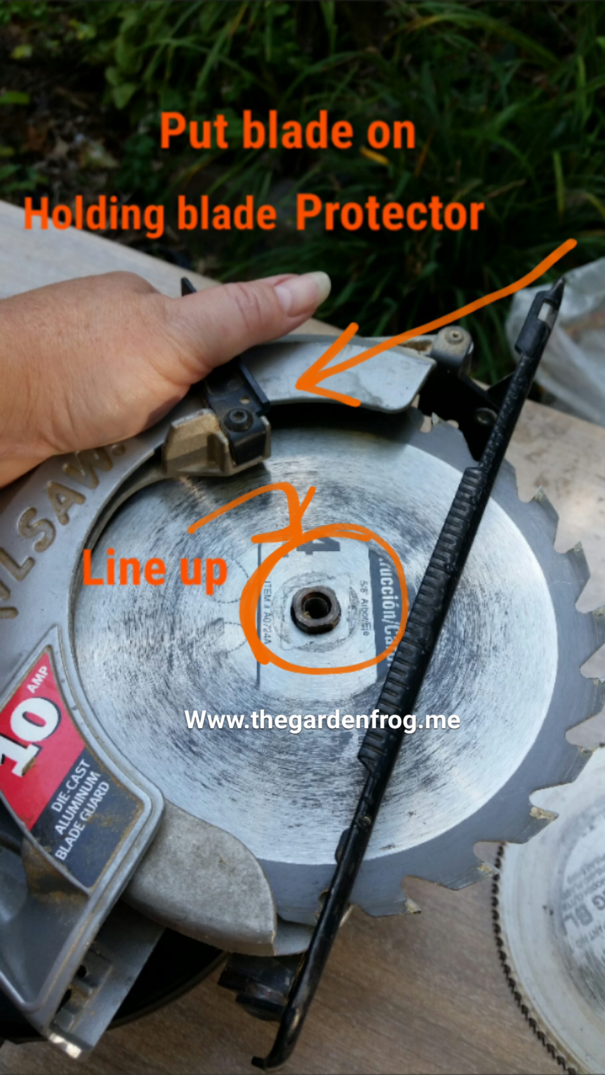 Change a circular saw blade how to change a circular saw blade keyboard keysfo Gallery
