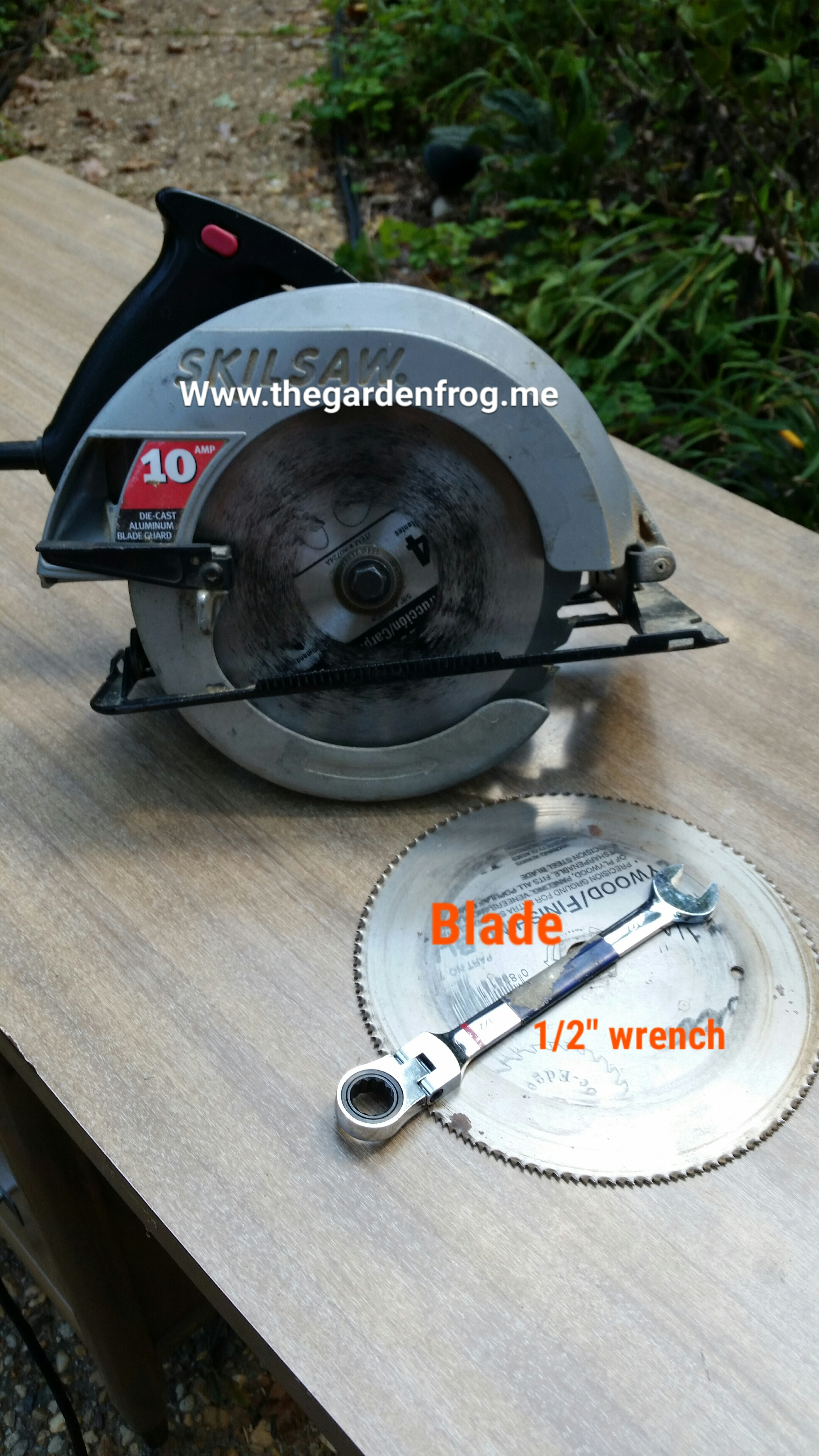 Older circular saw how to change a circular saw blade greentooth Image collections
