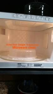 Kitchen tip: to keep the microwave clean